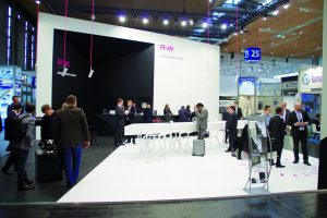 R+W-Messestand in Hannover